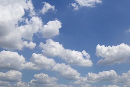 Beautiful blue sky and cloud. Фото со стока
