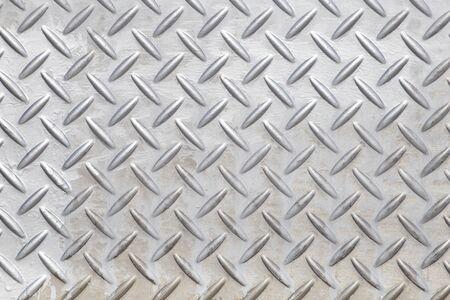 Steel floor textured and background.