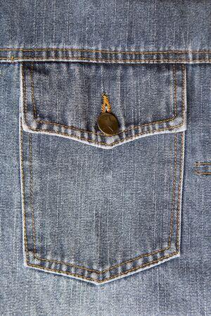 Jeans pocket background. Jeans concept. Фото со стока