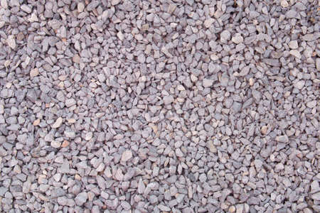 Crushed stone. Crushed stone construction materials. Banco de Imagens