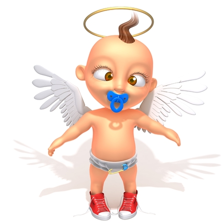 Baby Jake angel photo