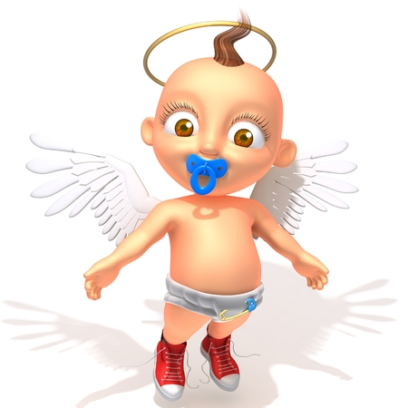 aureole: Baby Jake angel