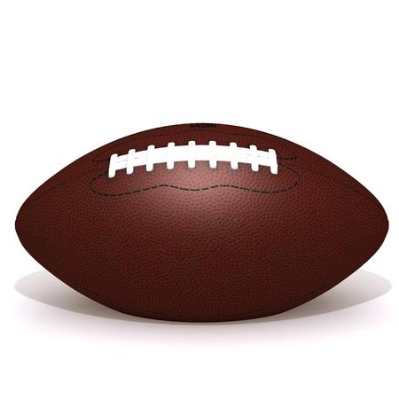 college footbal: American football ball