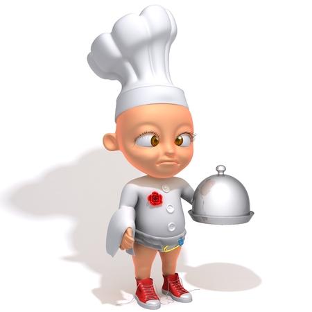 Baby Jake chef photo