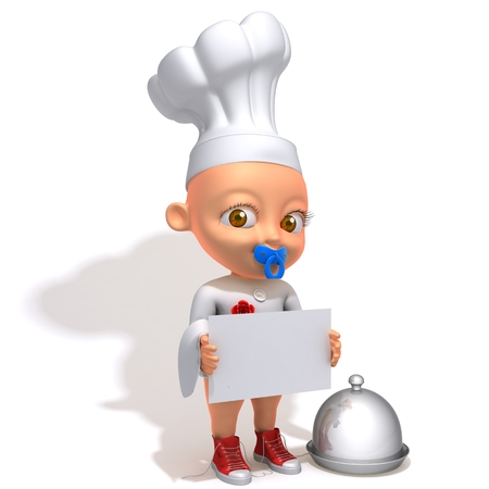 Baby Jake chef photo
