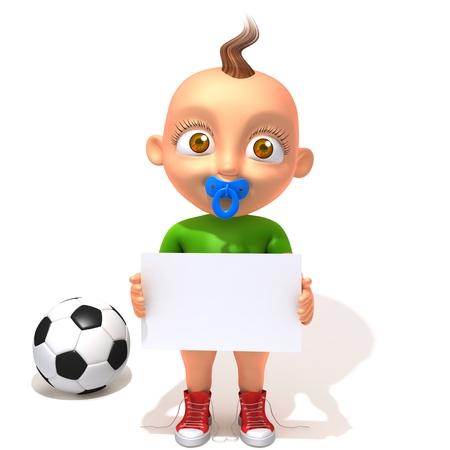 Baby Jake football photo
