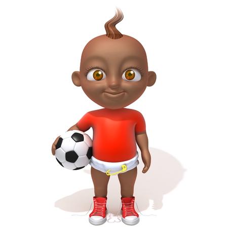 Baby Jake football player photo