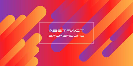 Red, violet, orange background with gradient colors. Abstract design. Vector background.