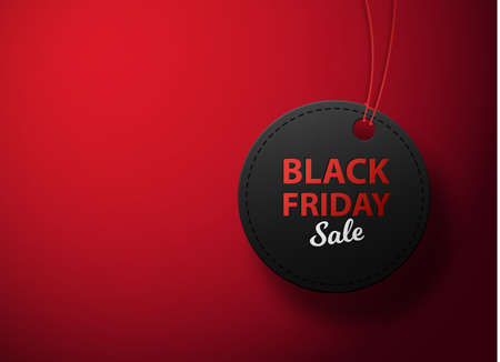 Black Friday sale black tag. Black friday sale,sale banner design template, discount tag, app icon.