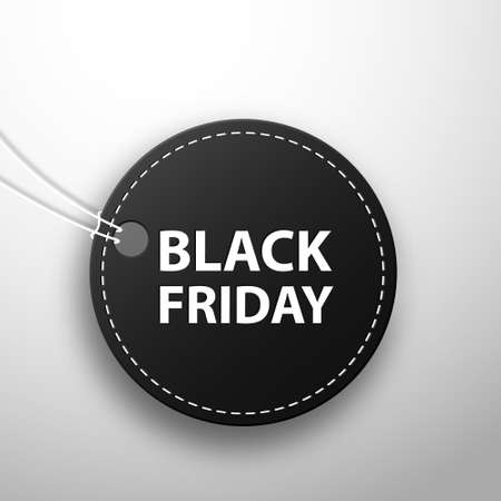 Black Friday sale black tag. Black friday sale,sale banner design template, discount tag, app icon