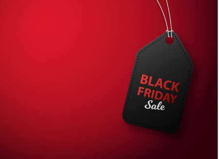 Black Friday Sale tag. Black friday price sticker. Promotion, Discount and Price off banner or badge. Illusztráció