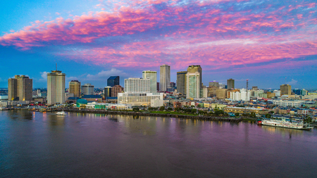 New Orleans, Louisiana, USA Skyline at Sunrise
