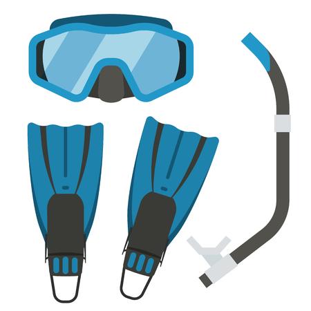 equipment: Snorkeling equipment.