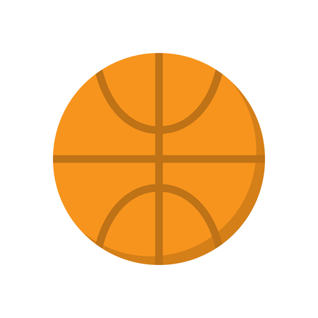 Basketball ball vector icon. Sport pictogram.