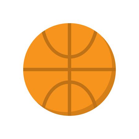 college footbal: Basketball ball vector icon. Sport pictogram.
