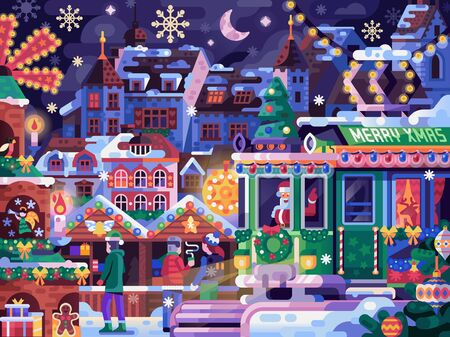 Christmas Festival with Holiday Tram and Basel Market