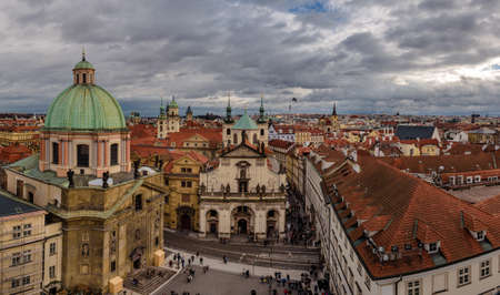 Prague Old Town Panoramic View
