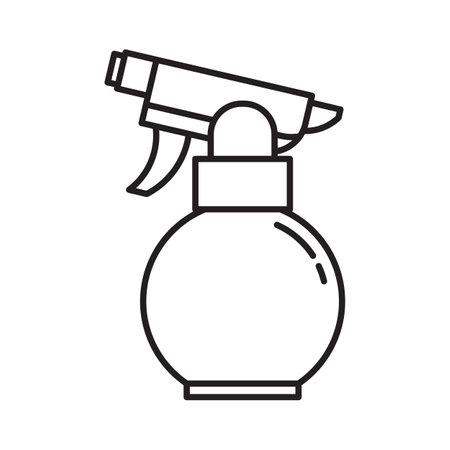 Garden Water Sprayer Icon in Line Art