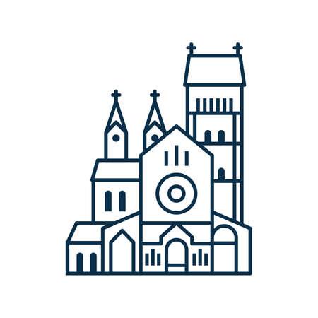 Church of Saints Simon and Helena Icon