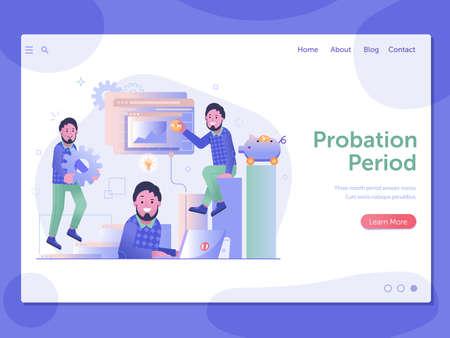 Work Management Probation Period Web Page Banner