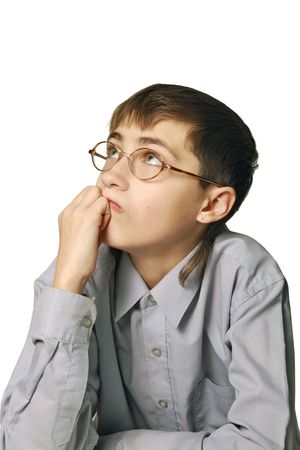 derivation: The abstract ideas of the pupil-teenager. Or - considering, the decision of problems
