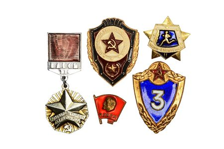 valor: Signs on military valour of the Soviet Army of 80th years