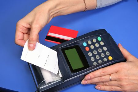 monetary: Carrying out of transaction through the electronic bank terminal