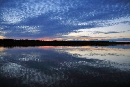 pacification: CLOUDS ABOVE LAKE