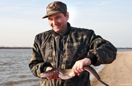 burbot: Siberian fisherman caught with burbot
