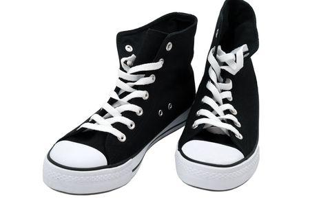 Modern fashion shoes, rubber shoes  photo