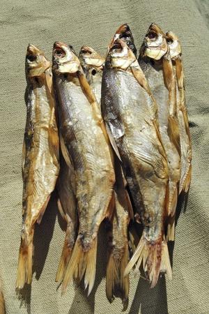 Freshly smoked freshwater fish  Stock Photo - 9214992