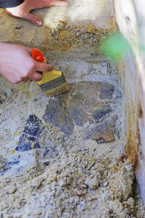 derrumbe: El descubrimiento arqueológico: el hundimiento del buque neolítica