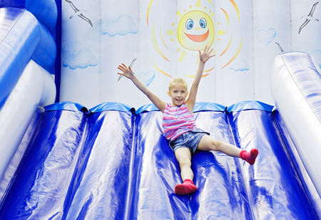 Childrens summer entertainment during the school vacation