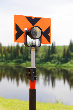Modern reflector for measuring distances by electronic total stations