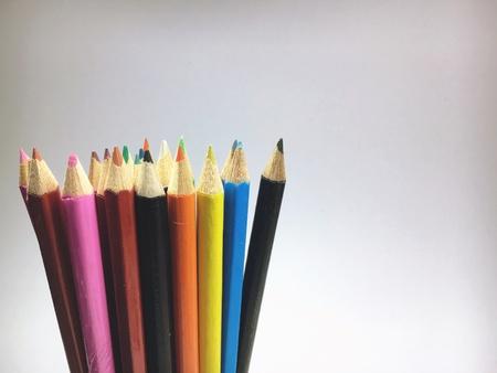 colour: Colorful pencils