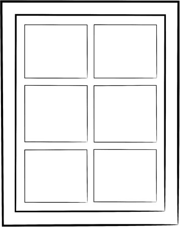 window design no color