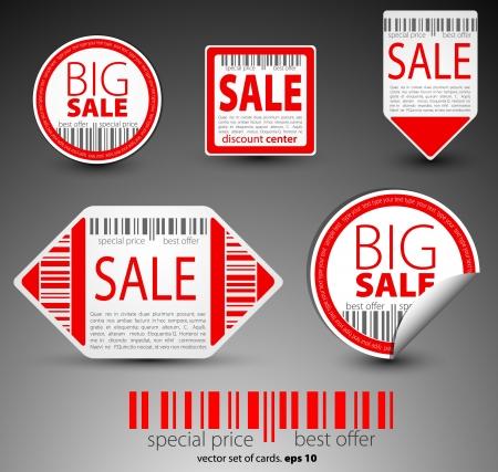 sales representative: Color sale objects