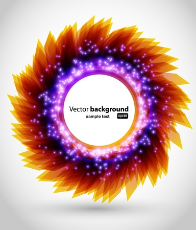portals: Modern color background with neon lights Illustration