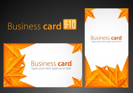 Business cards Stock Vector - 10077378