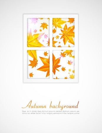 inwardly: Autumn after a window