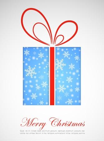 holiday celebrations: Christmas gift