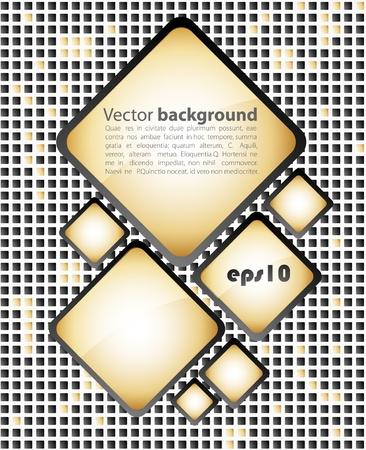 Dark  business mosaic. Vector