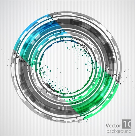 covet: Abstract green background  Vector