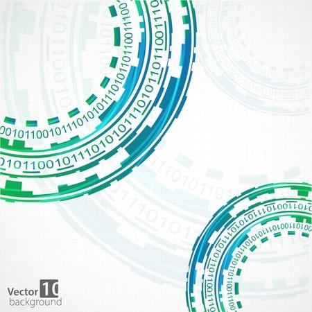 company background: Tecnologia astratta Vector sfondo
