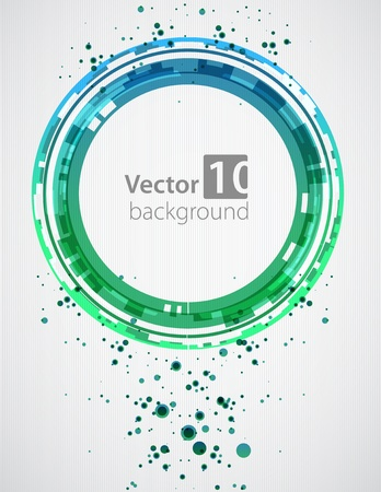new media: Abstract background  Vector