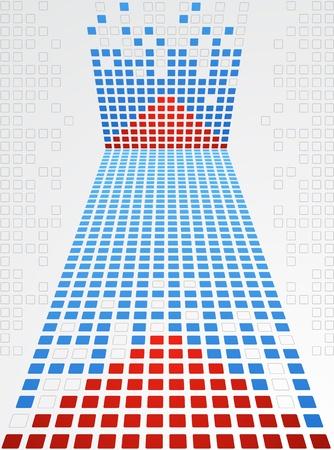 Pixel art  Vector background Vector