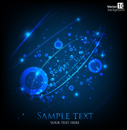 impetuous: Abstract dark background  Vector Illustration