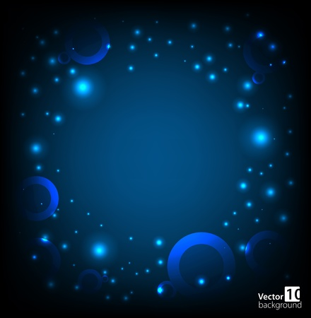 Abstract space background  Vector Vector