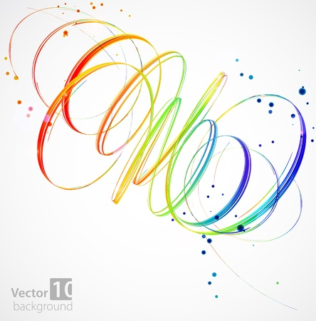 Abstract color background  Vector Stock Vector - 12868174