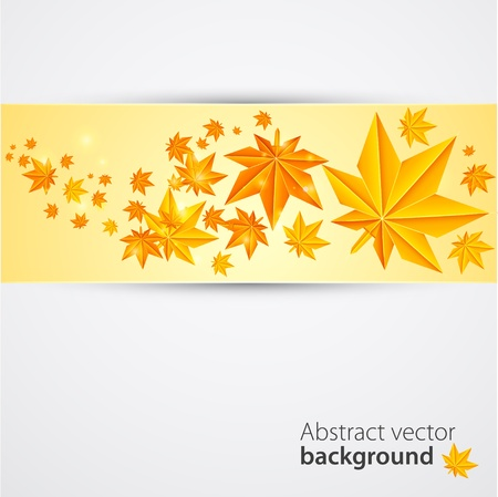Autumn background  Vector Vector